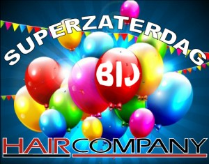 superzaterdag bij Hair Company