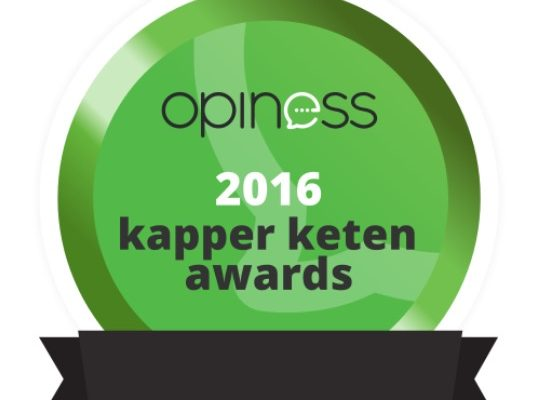 Hair Company Beste Kapper Keten Awards 2016