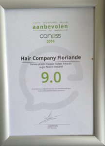 Hair Company Beste Kapper Keten Florinade Awards 2016